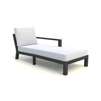 Timber chaise longue links