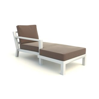 Timber chaise longue rechts